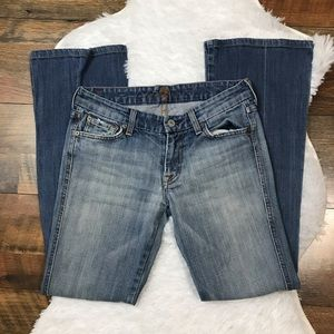 7FAM A Pocket Jeans Bootcut light wash